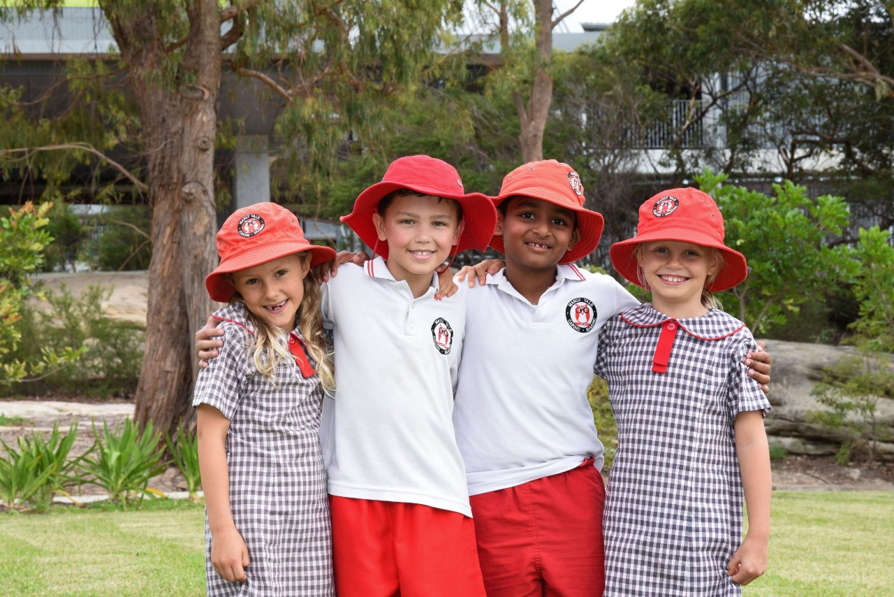 Students at Manly Vale